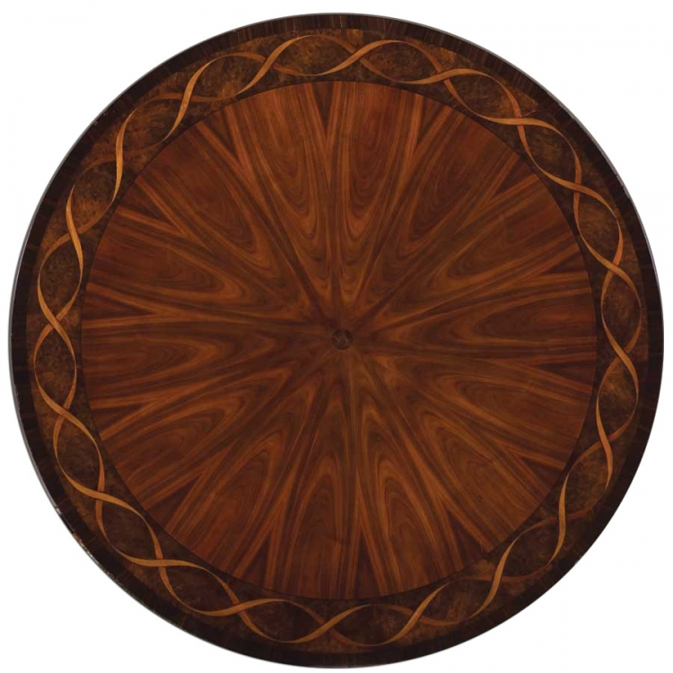 Bob Mackie Home-Signature Round Ribbon Table 54 Inches