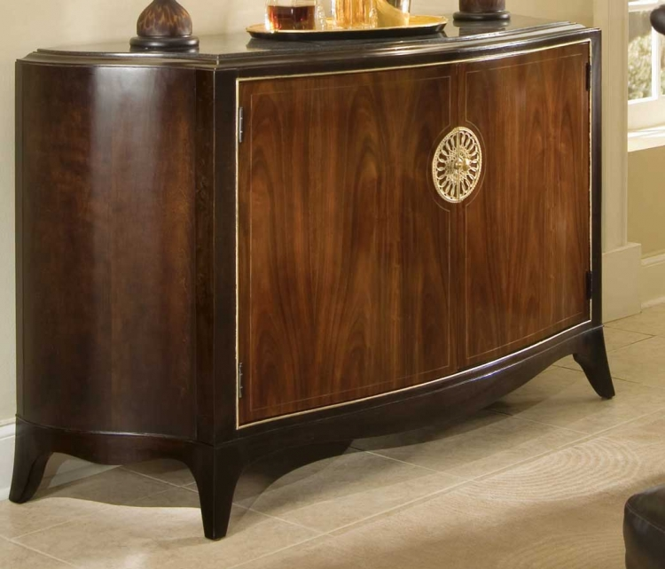 Bob Mackie Home-Signature Credenza with Granite Top Insert