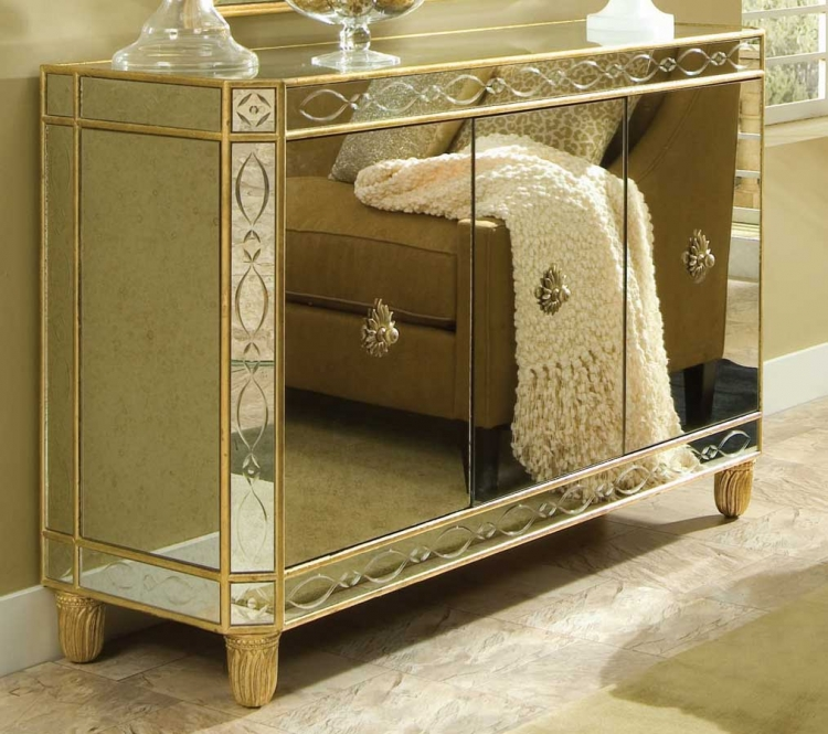 Bob Mackie Home-Signature Glass Credenza