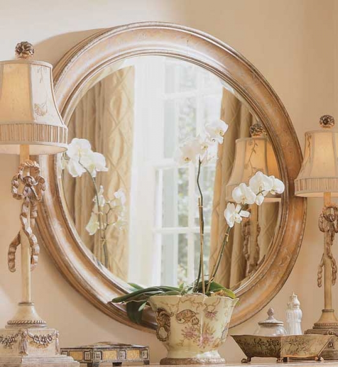American Drew Jessica McClintock-Home Oval Mirror