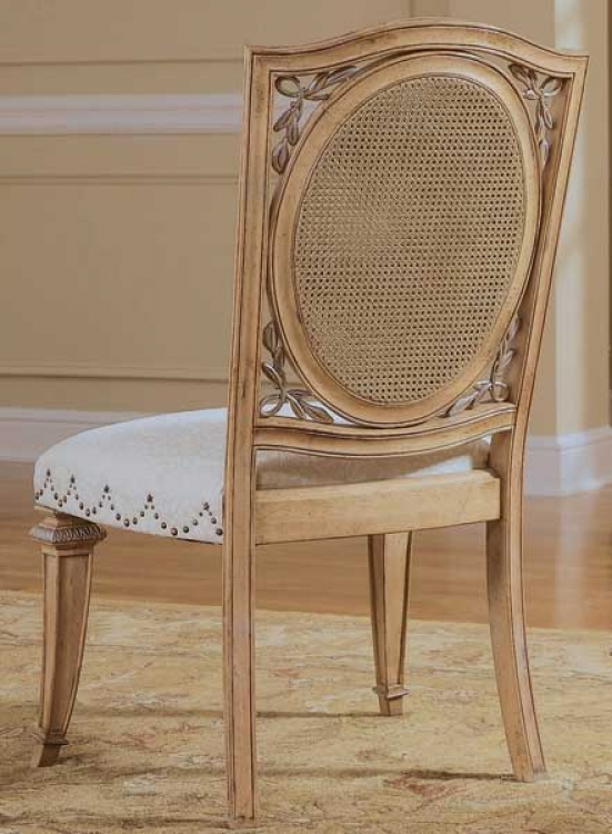 American Drew Jessica McClintock-Home Accent Side Chair Woven Cane