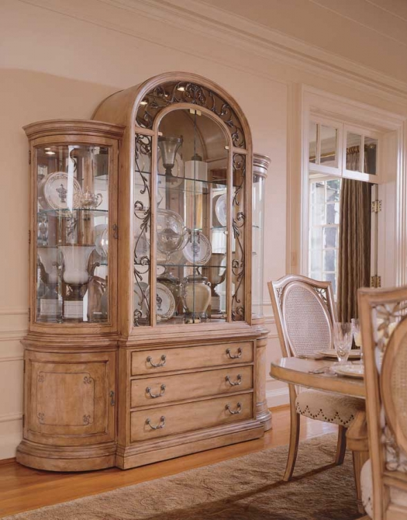 American Drew Jessica McClintock-Home China Cabinet Four Doors
