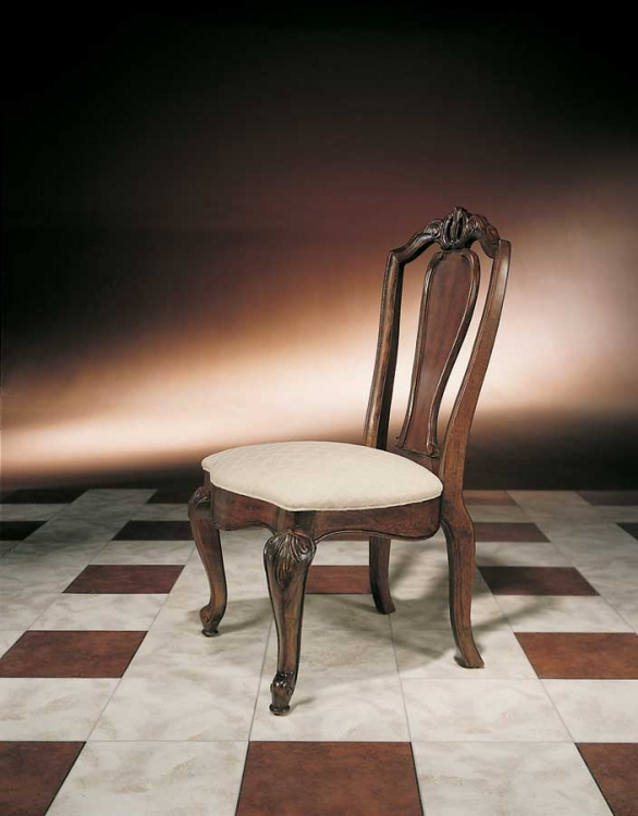 Bob Mackie Home Splat Back Side Chair