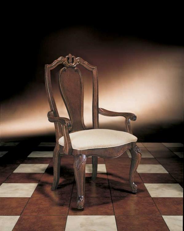 Bob Mackie Home Splat Back Arm Chair