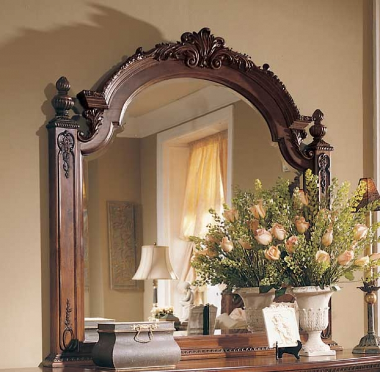 American Drew Jessica McClintock Home Romance Landscape Mirror