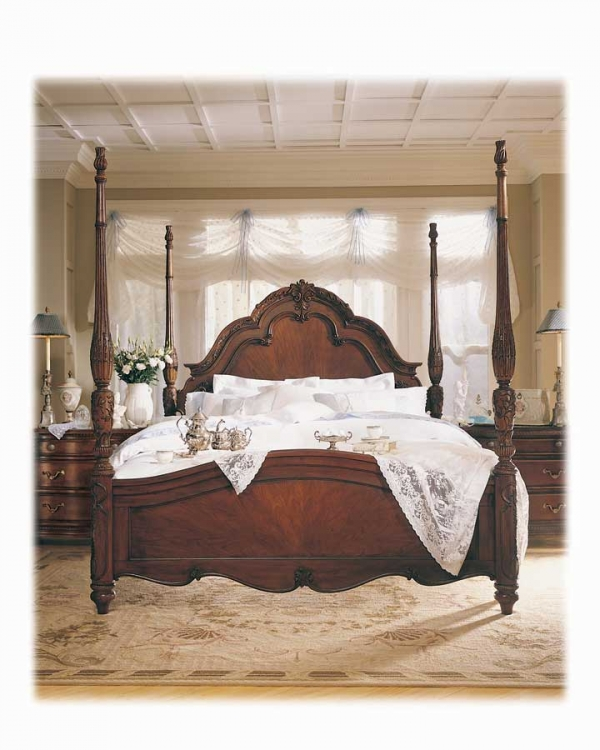 Jessica McClintock Home Romance Palais Poster Bed