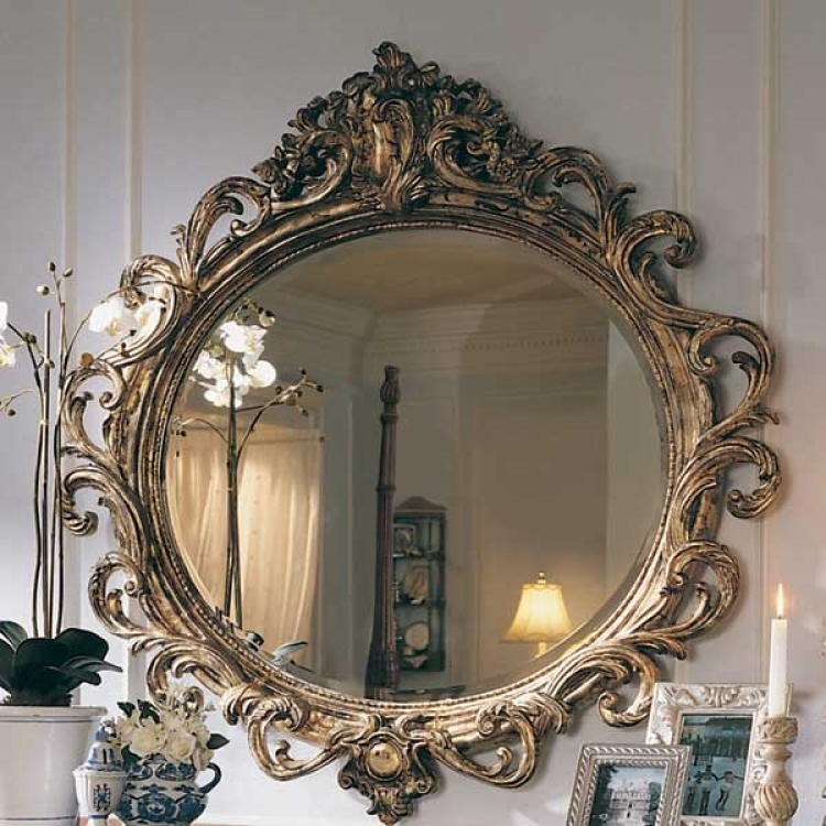 Jessica McClintock Home Romance Oval Mirror
