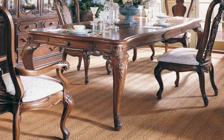 Jessica McClintock Home Romance Rectangular Leg Table
