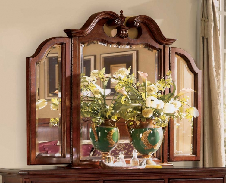 Cherry Grove Tri-Fold Mirror