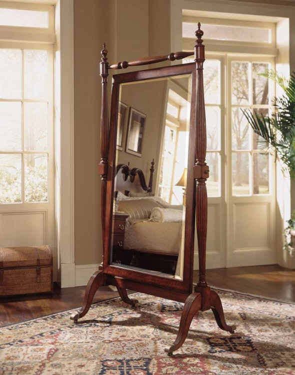 American Drew Cherry Grove Cheval Mirror