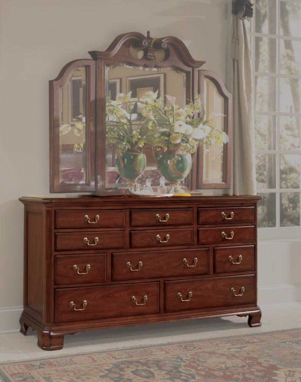 Cherry Grove Triple Dresser