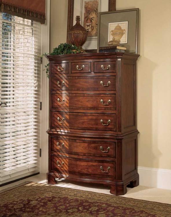 American Drew Cherry Grove Sleigh Bedroom Collection B791