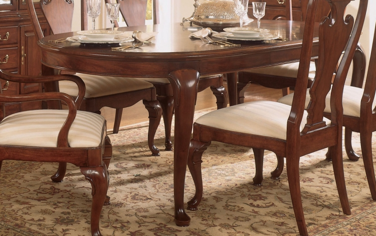 Cherry Grove Oval Leg Table