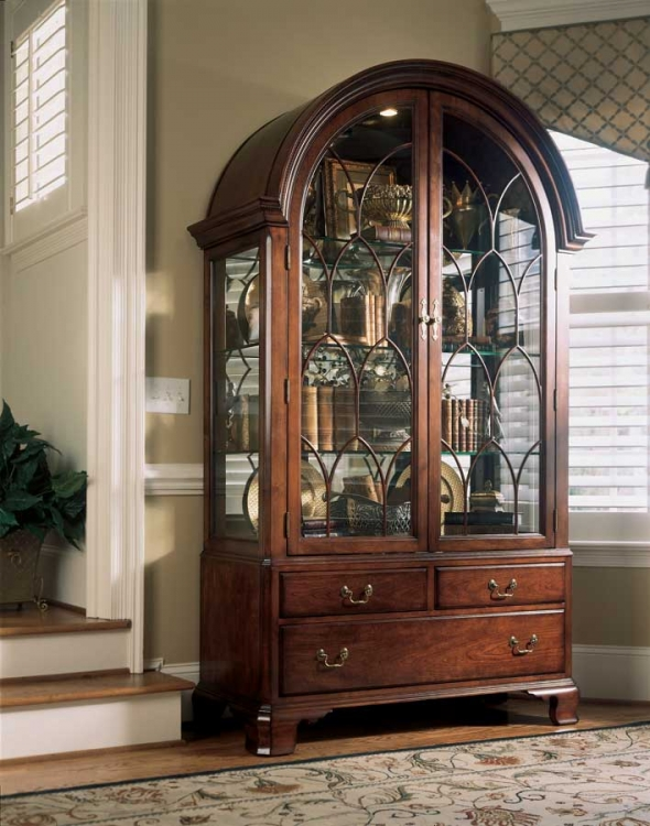 Cherry Grove Display China Cabinet