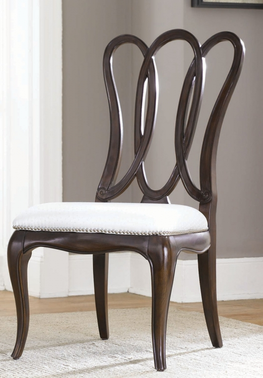 Sonata Wood Back Side Chair