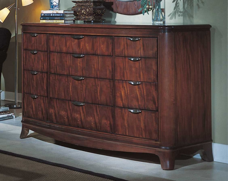 Advocate Drawer Dresser with Wood Top