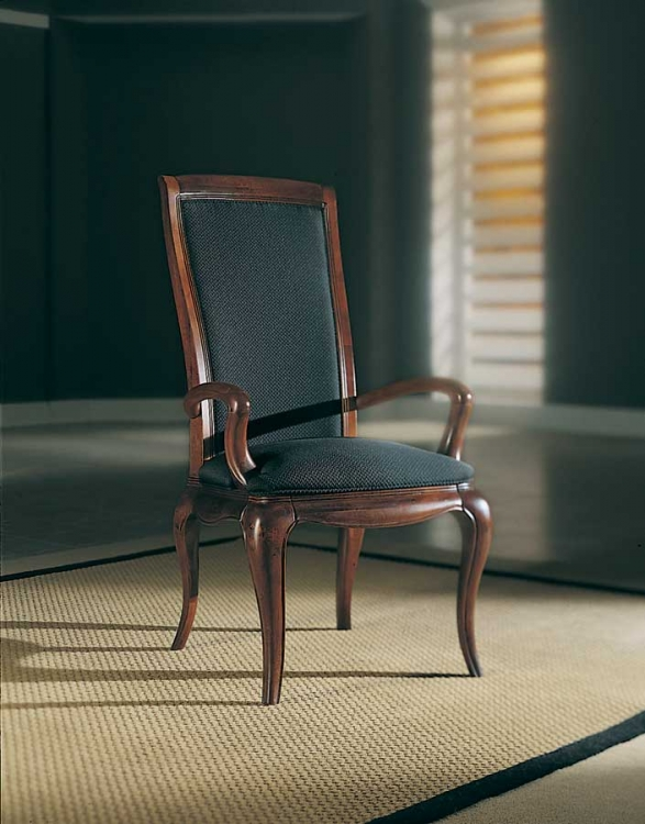 Advocate Upholstered Back Arm Chair