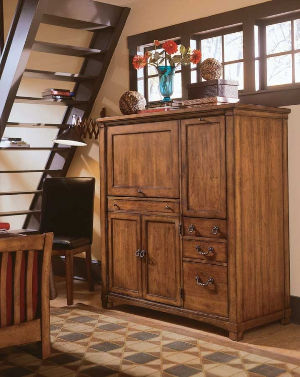 Beacon Ridge Computer Armoire