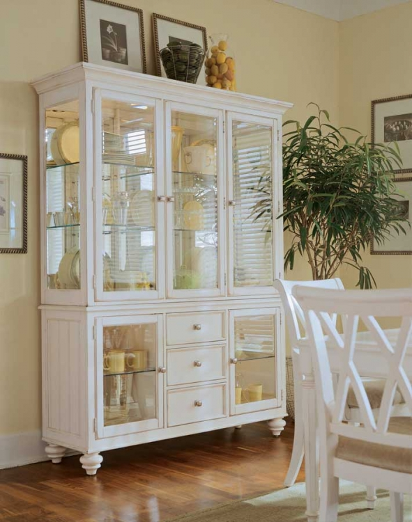 Camden Light China Buffet Credenza and Deck