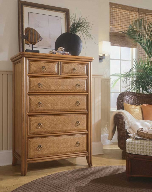 Antigua Drawer Chest-American Drew