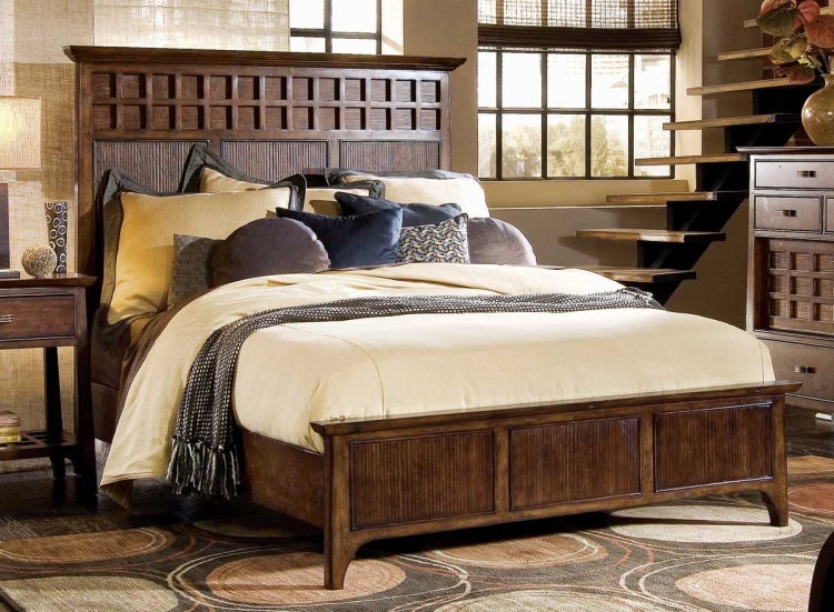 Cambria Panel Bed