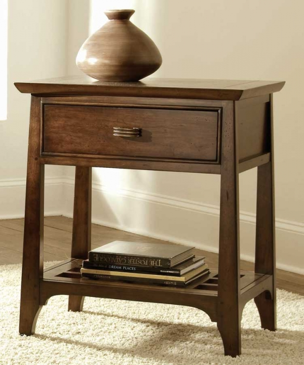 American Drew Cambria Open Nightstand