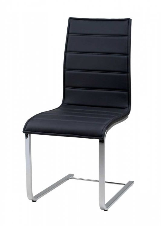 Contemporary Dining Chair - Black - Armen Living