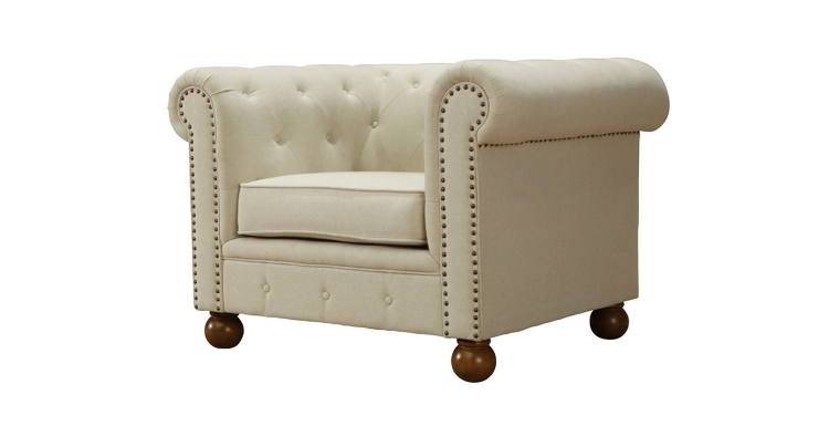 Winston Chair Linen - Beige