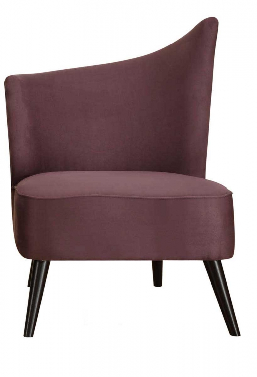 Elegant Accent Chair - Purple