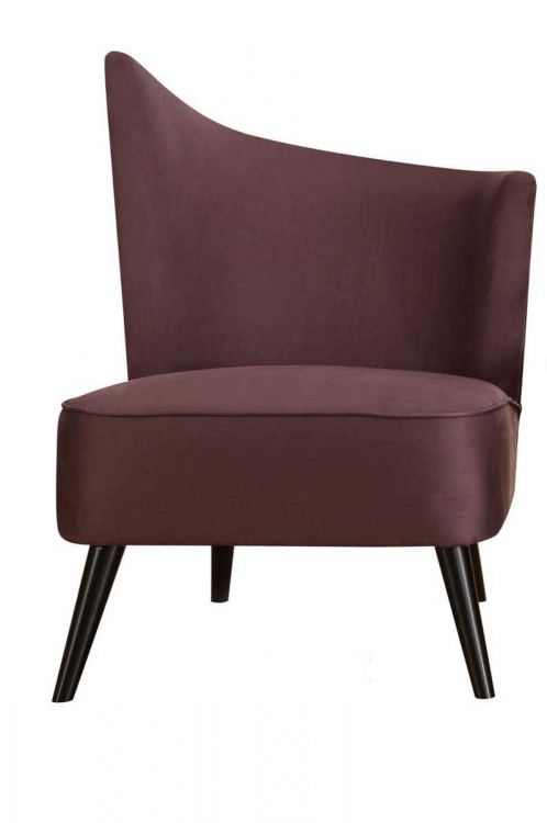 Elegant Accent Chair - Purple - Armen Living