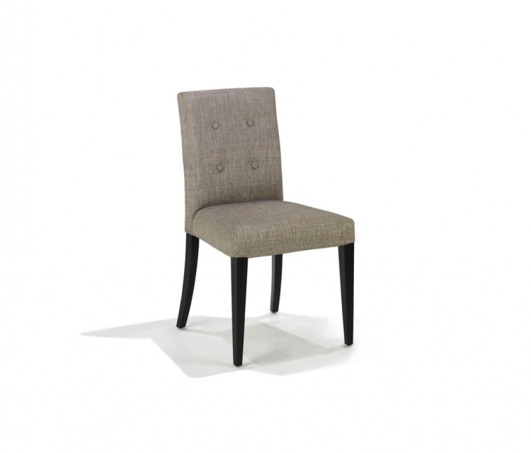 Wall St Fabric Side Chair - Armen Living