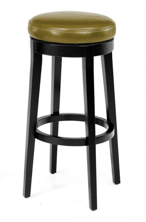 Mbs-450 30in Backless Swivel Barstool - Wasabi - Armen Living