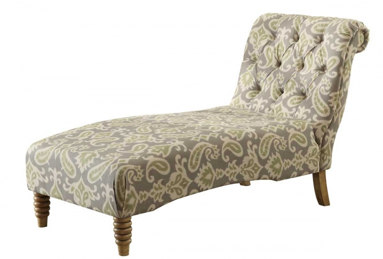 Tufted Chaise - Putty