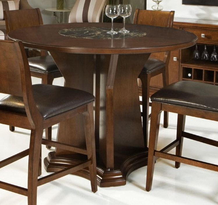 Ashton Counter Height Table - Cherry - Armen Living