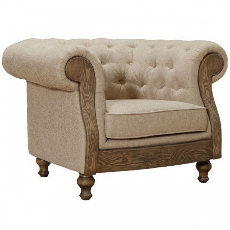 Barstow Chair In Sand Fabric
