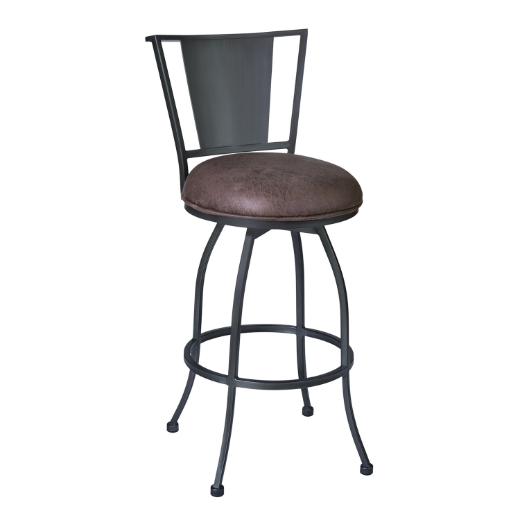 Dynasty 26-inch Bar Stool - Bandero Tobacco