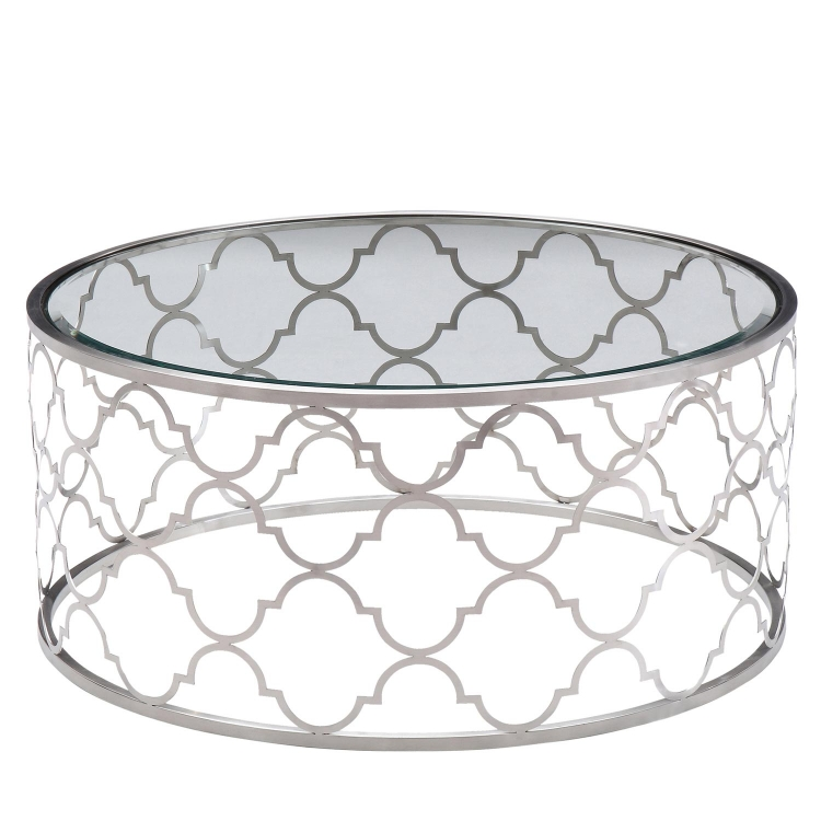Florence Coffee Table - Clear