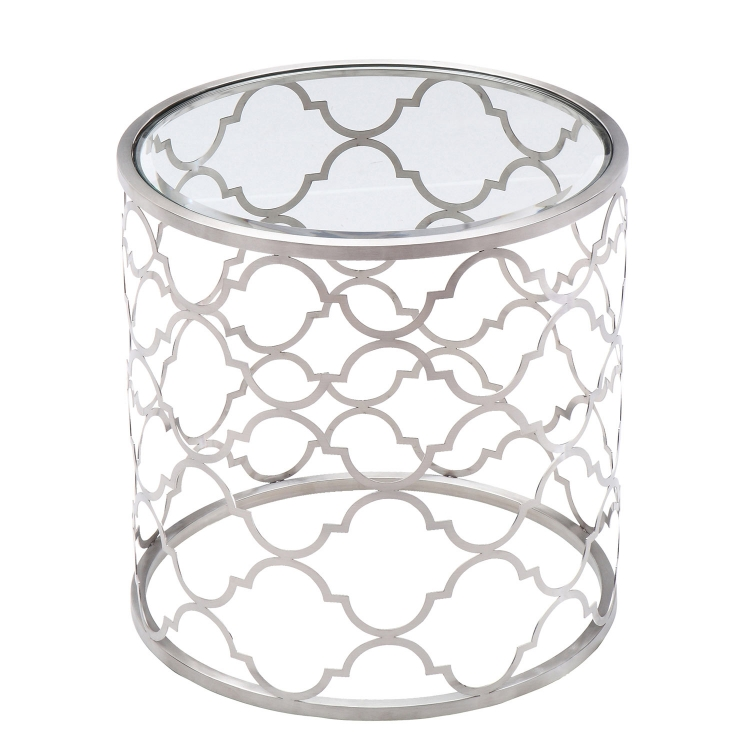 Florence End Table - Clear