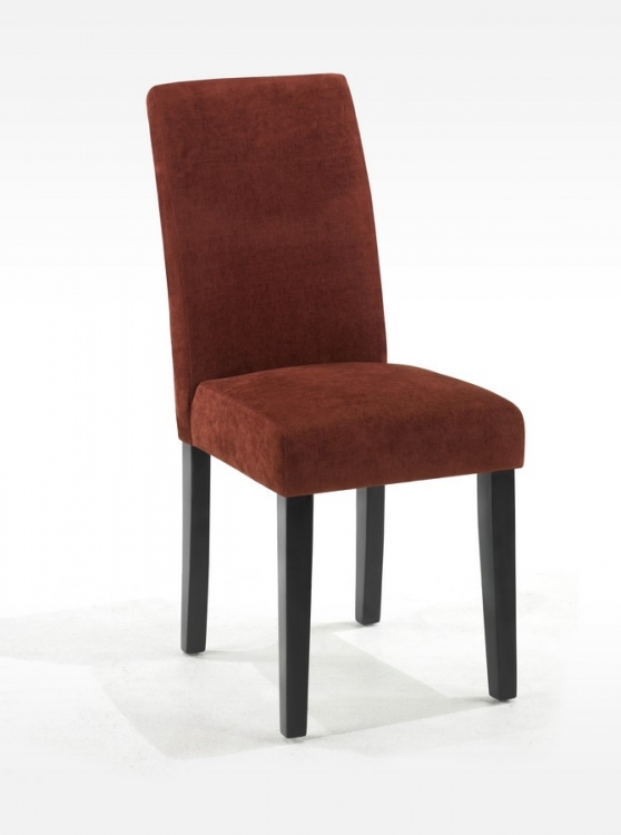 Pimento Color Fabric Side Chair