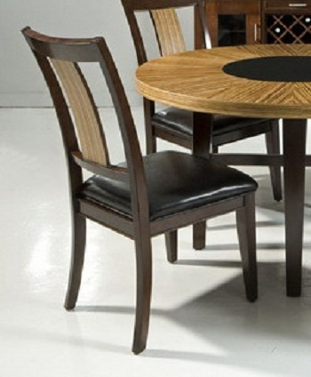 Milano Side Chair - Zebrano