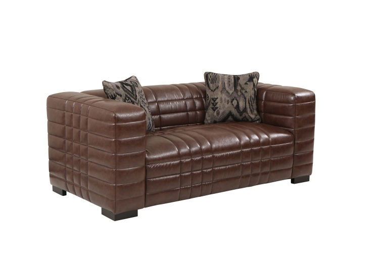 Maxton Loveseat - Brown
