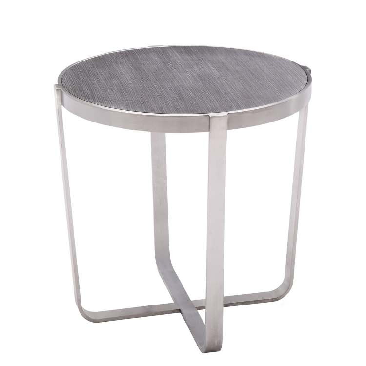 Nova End Table - Grey