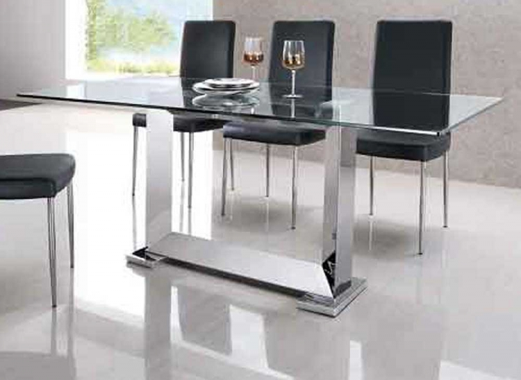 Posto Stainless Steel Dining Table