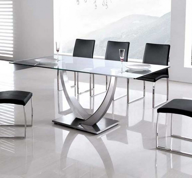 Primo Stainless Steel Dining Table