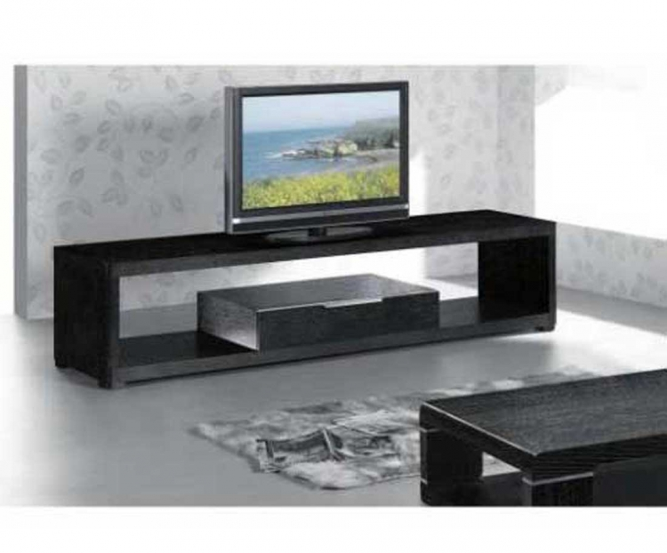 Modern Tv Unit Entertainment Set - Wenge Oak Veneer - Armen Living