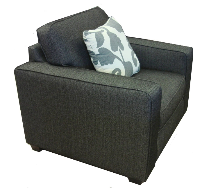 Calvin Chair - Talbot Onyx Fabric