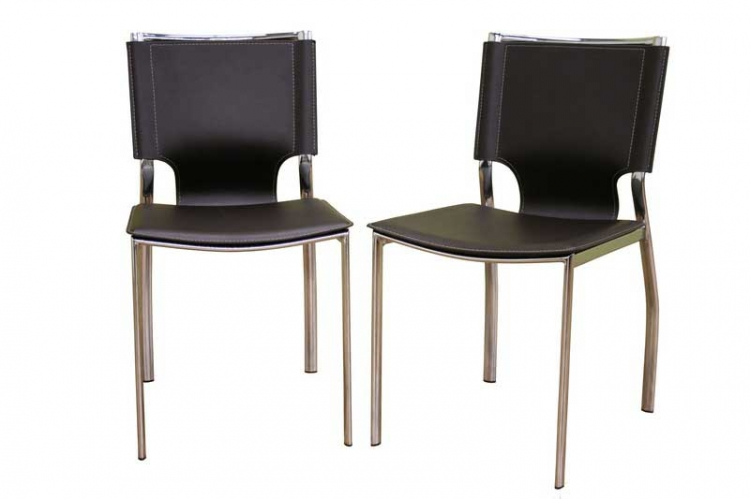 ALC-1083 Brown Dining Chair - Wholesale Interiors