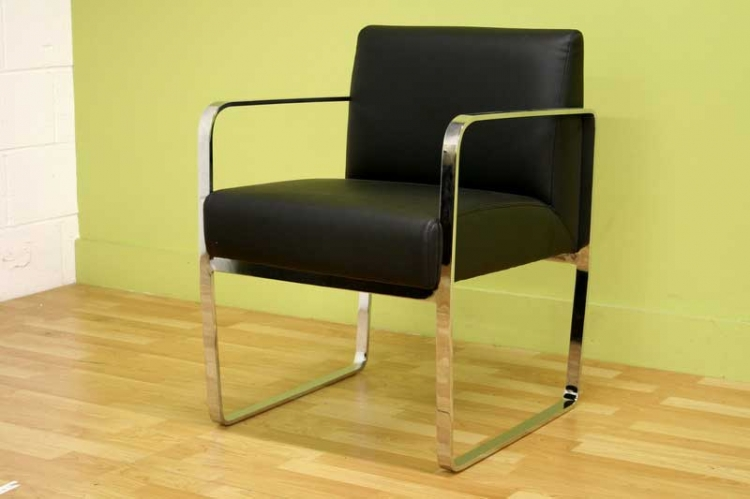 Meg Black Dining Chair - Wholesale Interiors