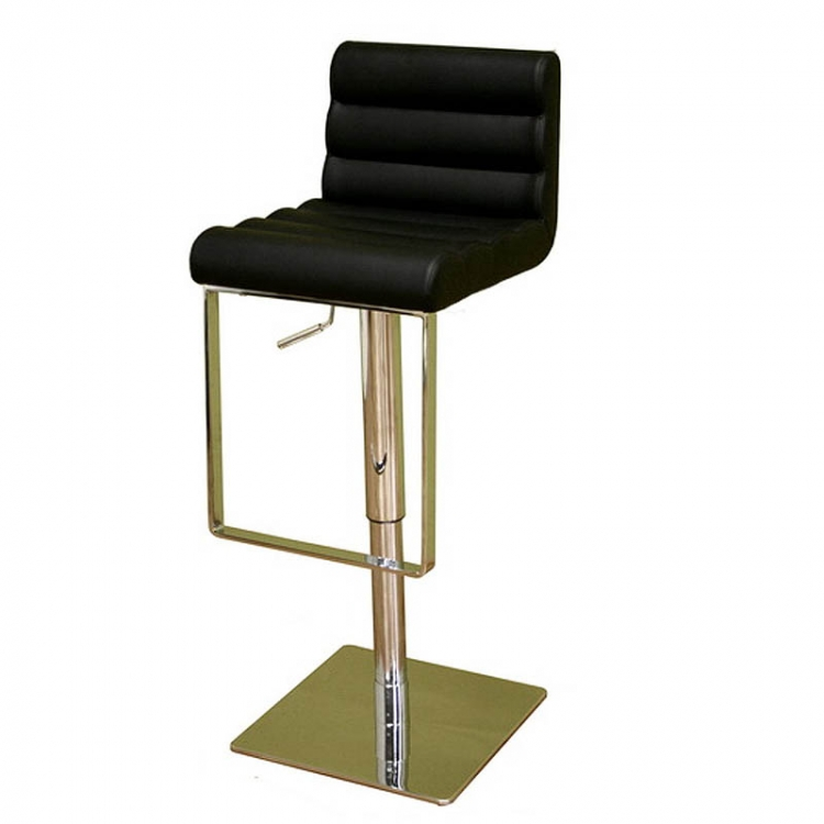 Sandie Black Bar Stool - Wholesale Interiors
