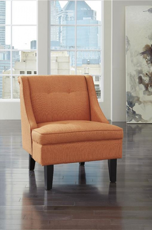 Clarinda Accent Chair - Orange